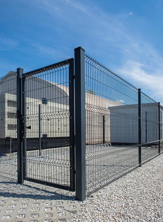 mesh gate 3 d black