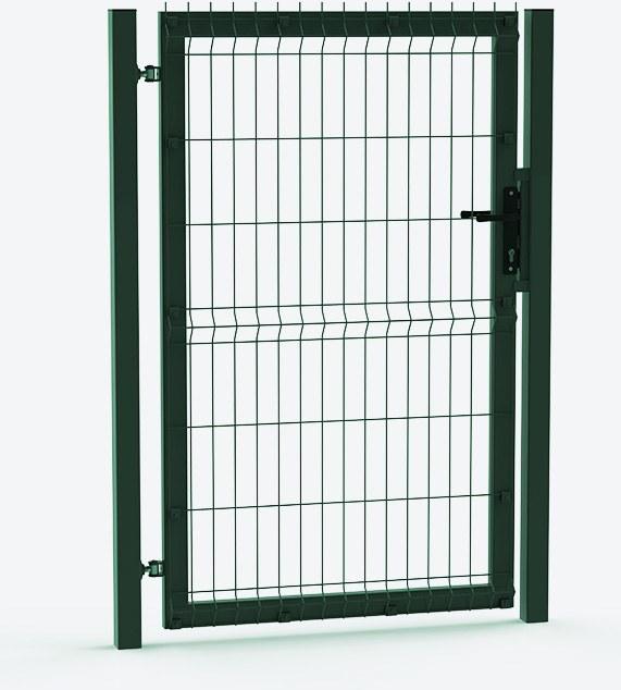 mesh gate 3 d green