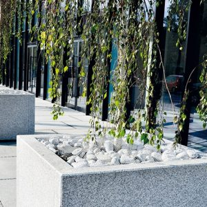 GREY GRANITE FLOWERBED