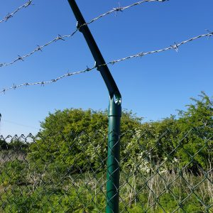 CRANKED BARBED WIRE