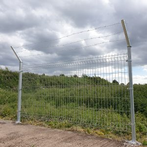 3 D PANEL BARBED WIRE