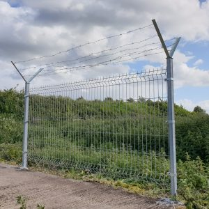 3D panel , barbed wire