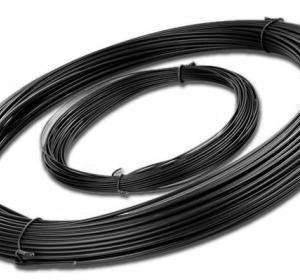 galvanized wire - black pvc